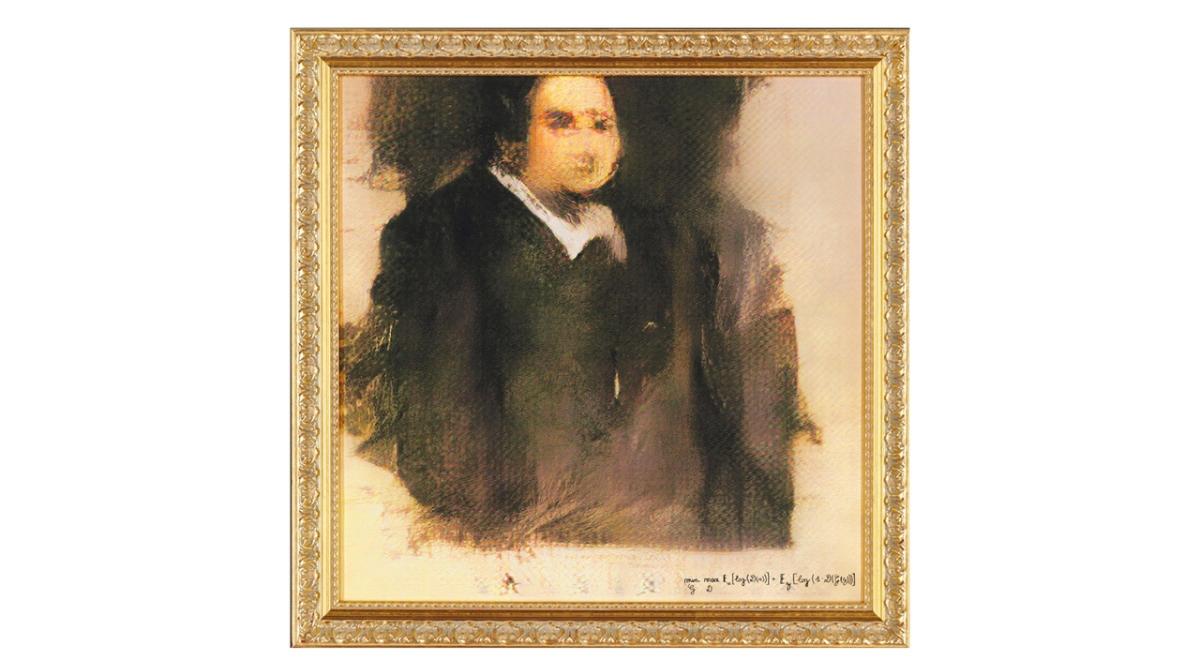 """На картине """"Портрет Эдмонда де Белами"""" изображен один из членов вымышленной графской семьи де Белами"""