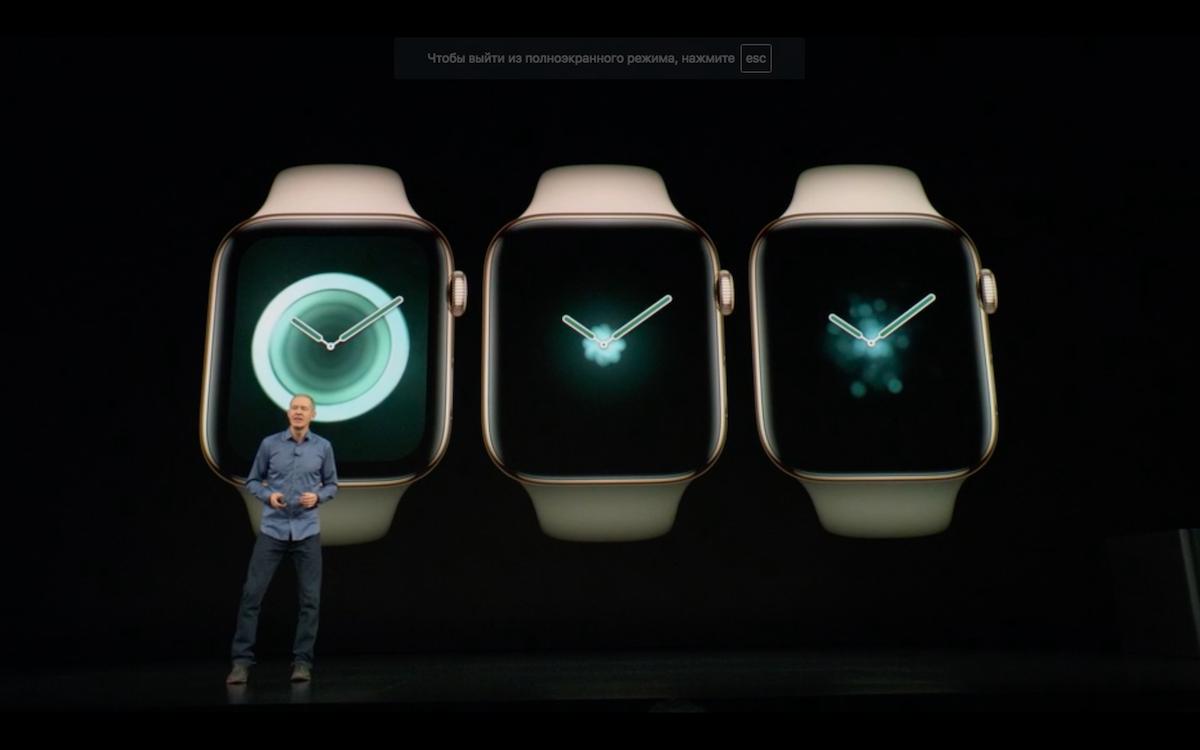 Apple Watch Series 4 в Украине можно будет купить после 19 октября