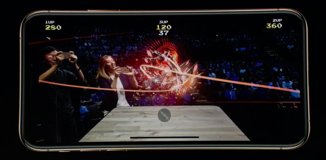 Дополненная реальность в iPhone XS Max
