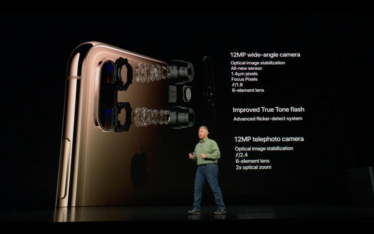 Камера в iPhone XS Max