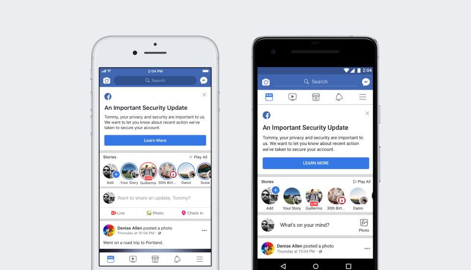 Хакерской атаке подверглась социальная сеть Facebook