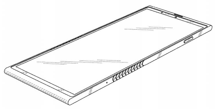 Lenovo запатентовали гибкий смартфон