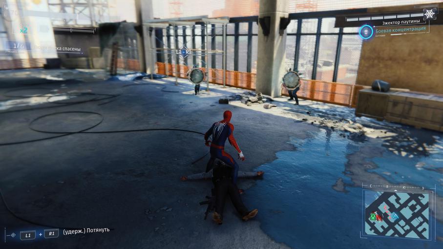 Человек-паук не подвластен законам физики