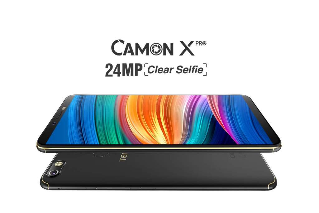 Серия CAMON будет представлена моделью Camon X Pro