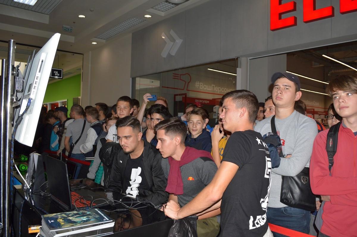 На мероприятии присутствовали знаменитые геймеры