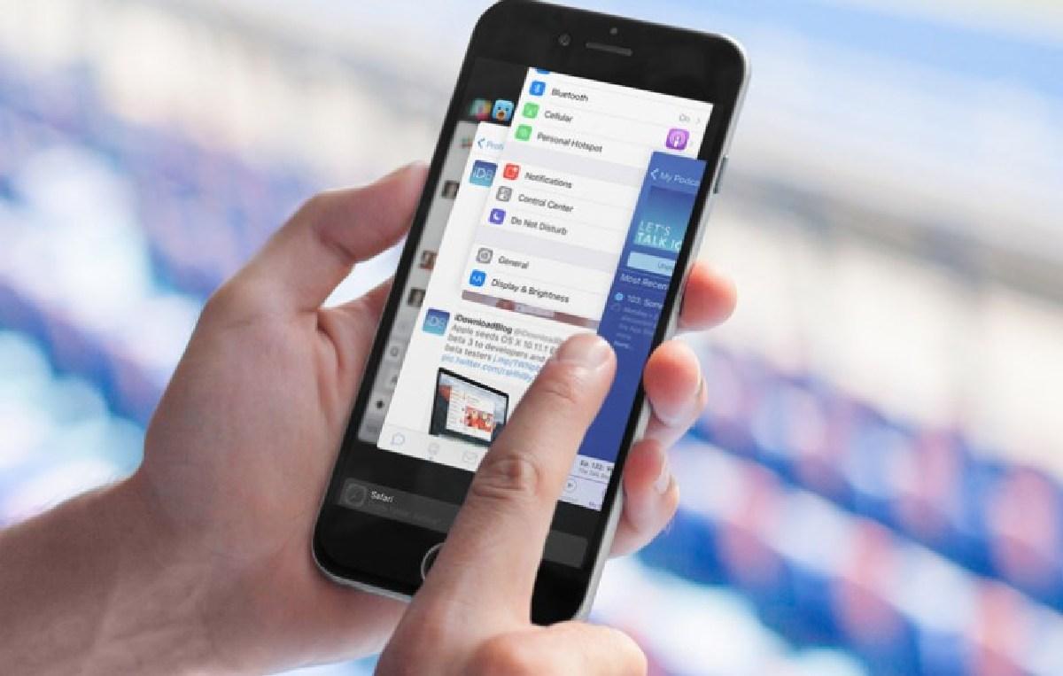 Смартфон сам закрывает приложения, если их долго не используют