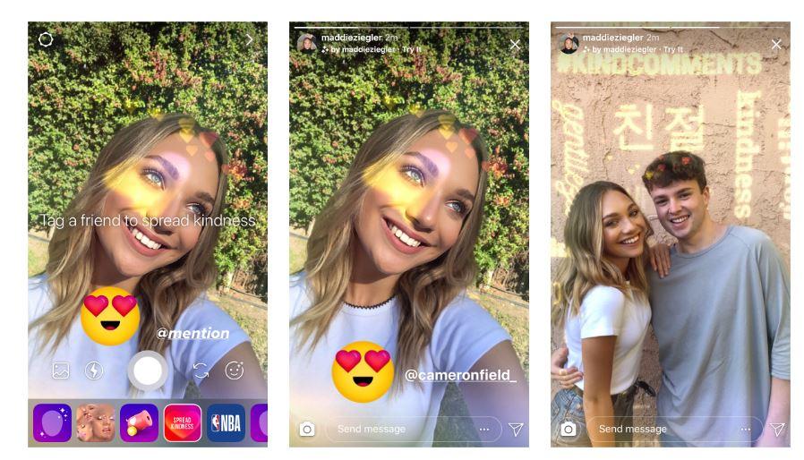 Новый эффект камеры в Instagram