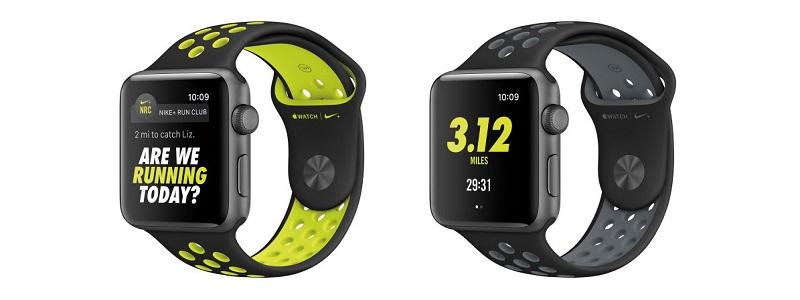Лимитированные часы Nike от Apple Watch