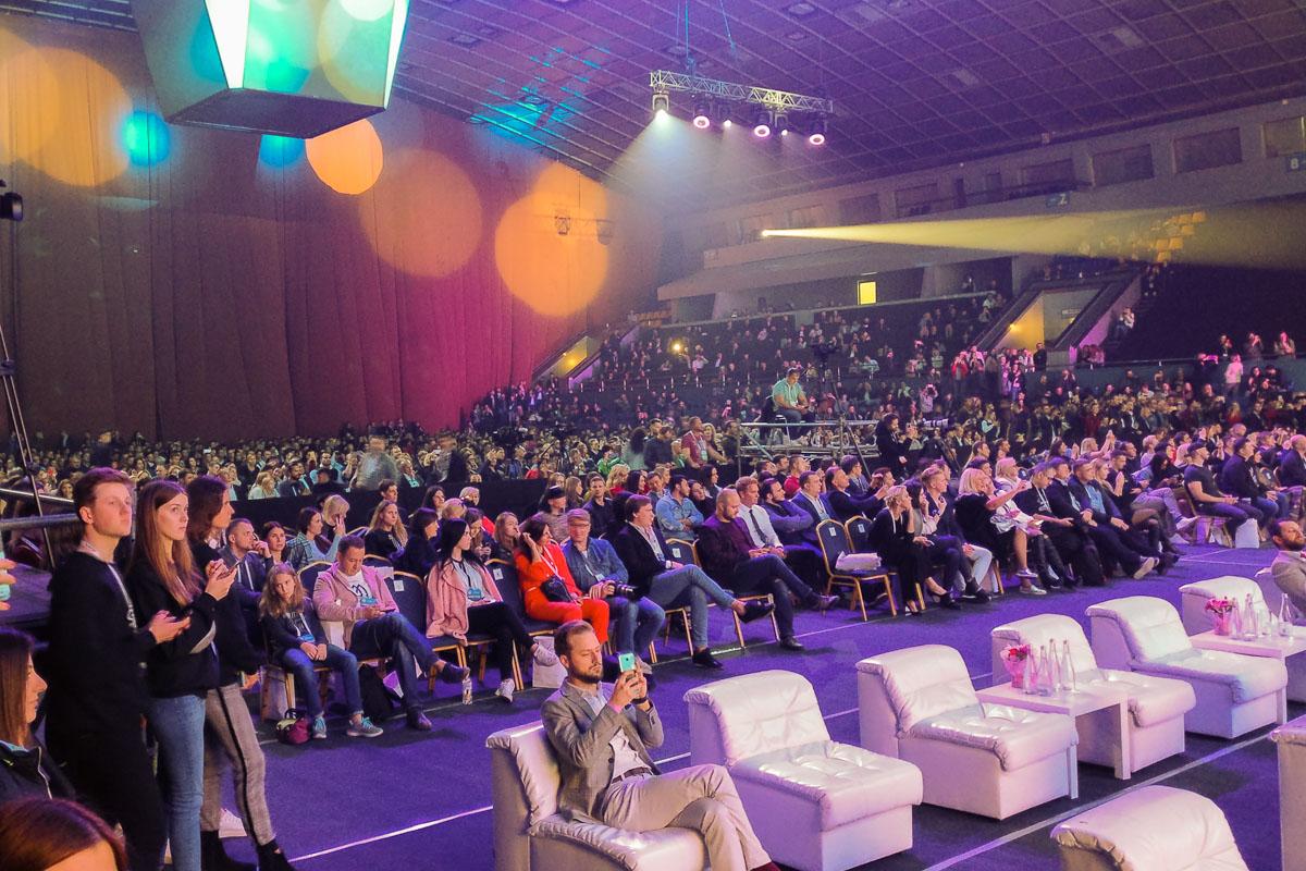 "Во ""Дворце Спорта"" прошел масштабный бизнес-форум Olerom Forum One"