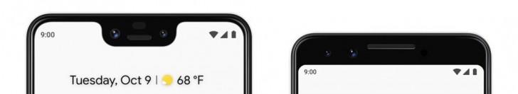У новых смартфонов от Google по две фронтальные камеры