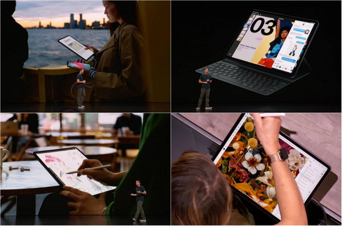 """Новый планшет от Apple избавился от кнопки """"Домой"""" и получил разъем USB-C"""