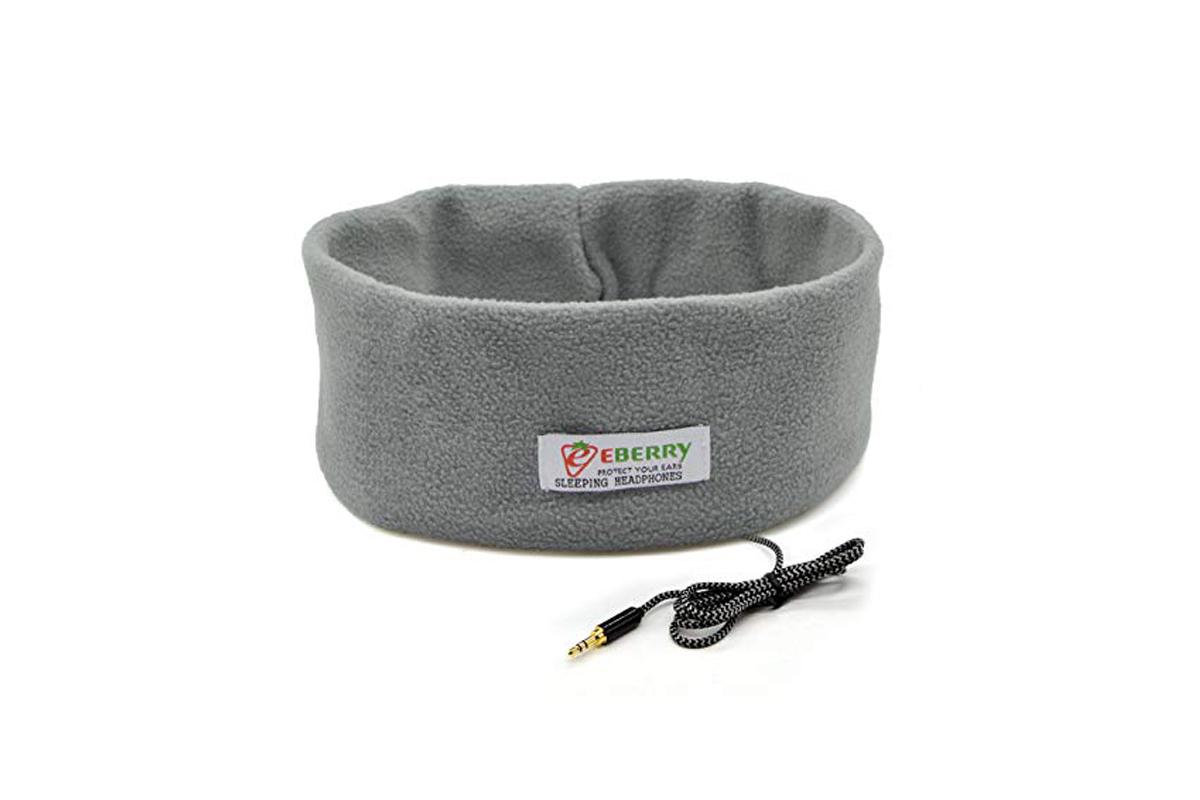 Ultra Thin Sleep Headphones + Storage Pouch