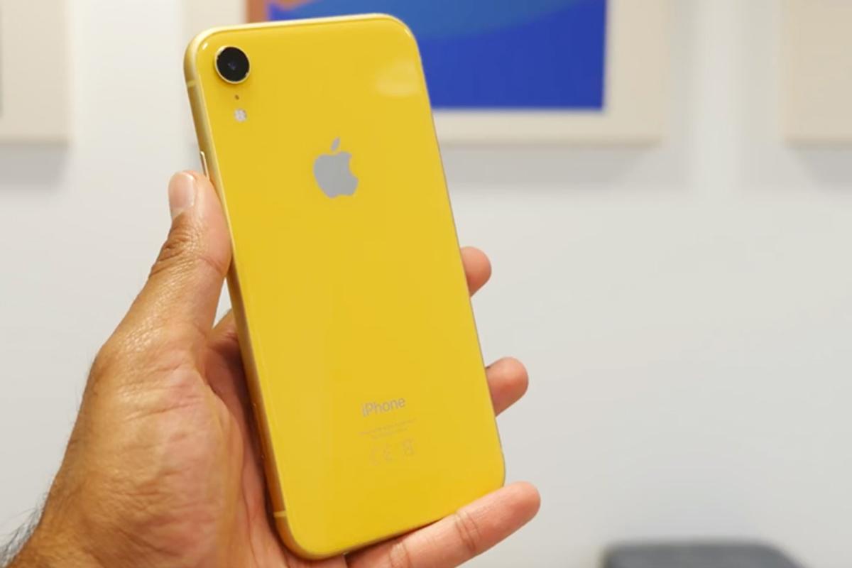Производство iPhone XR сокращается