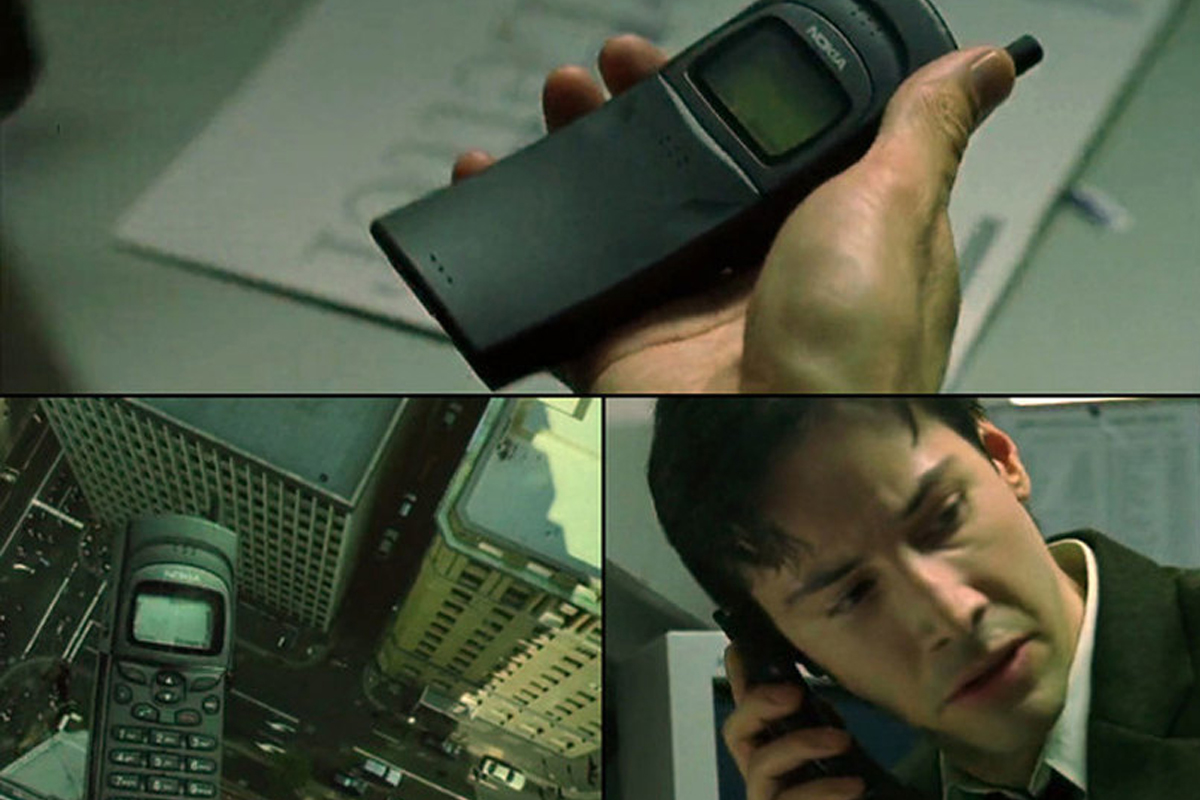 Nokia 8110 в фильме Матрица