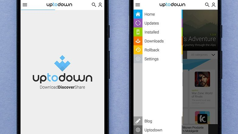 Приложение Uptodown