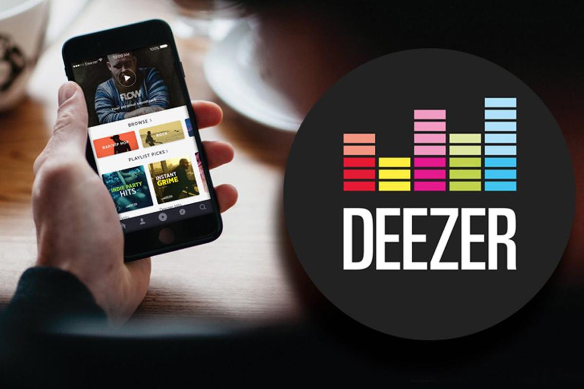 Приложение Deezer