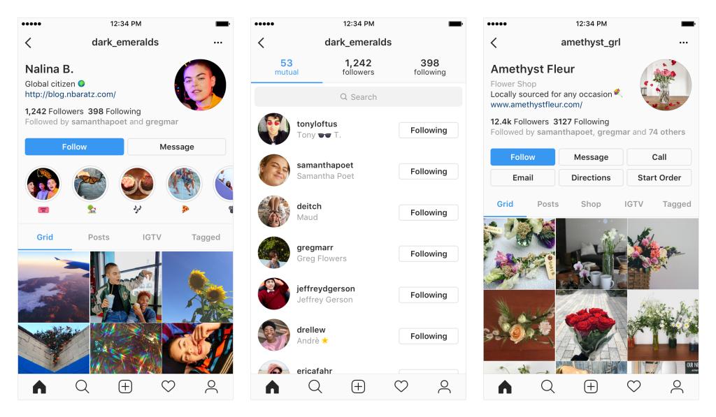 Новая главная страница в Instagram