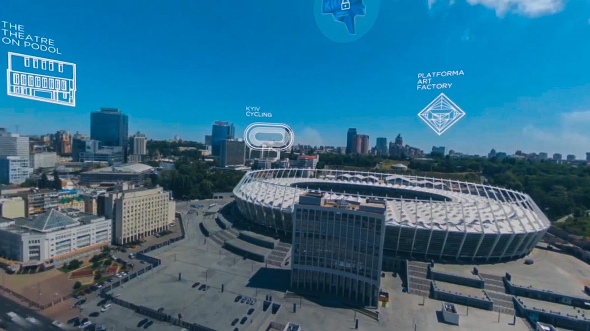 Бесплатное VR-приложение разрабатывала украинская студия Sensorama Lab