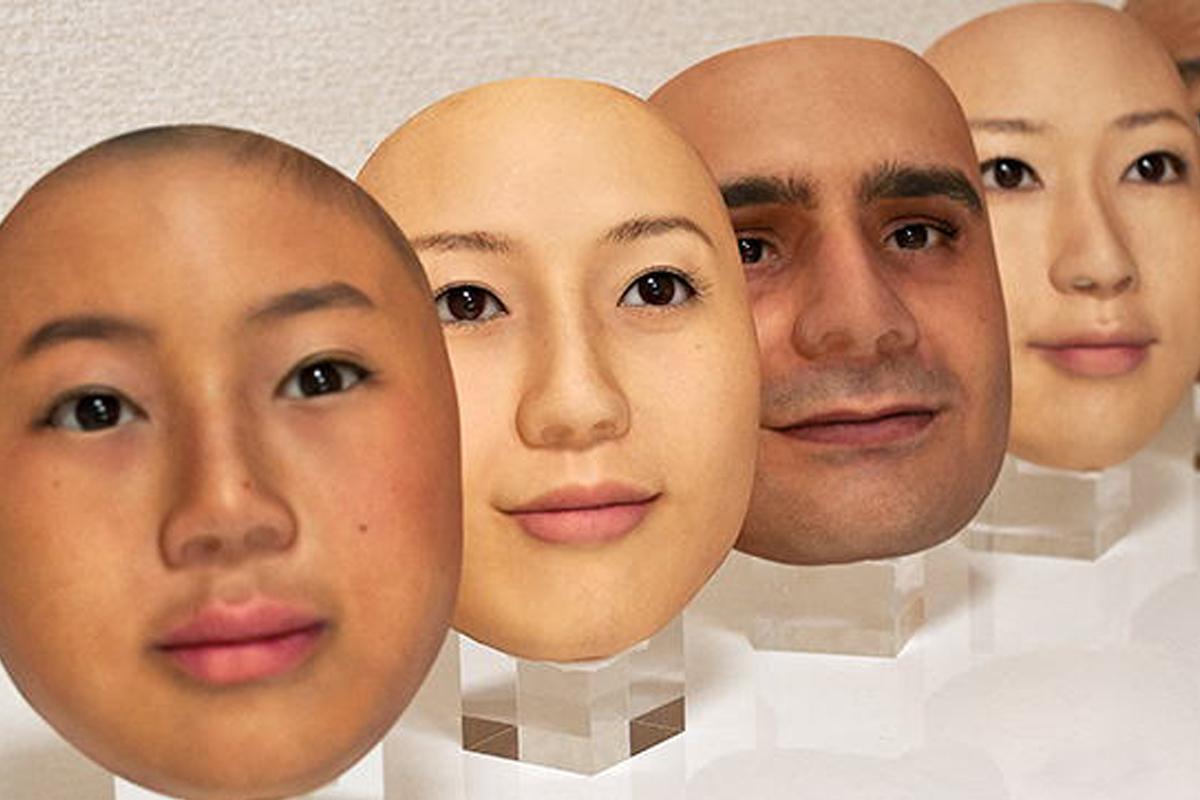 Реалистичные 3D-маски, которые показывают мельчайшие морщины и вены