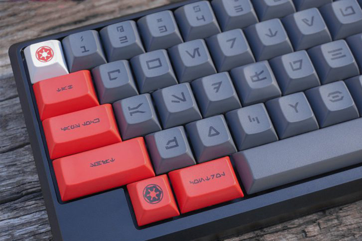 Клавиатура по мотивам «Звездных войн»