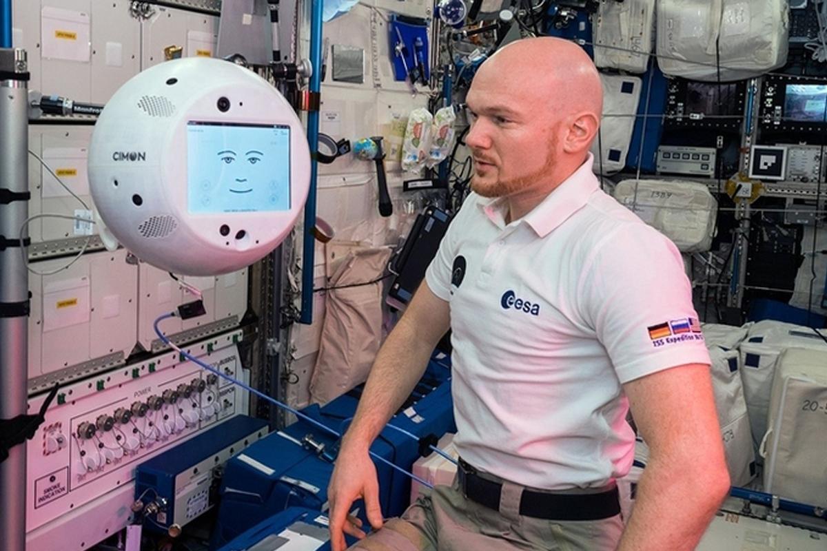 Космический робот-помощник CIMON