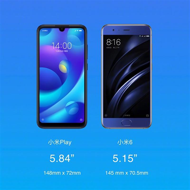 Xiaomi Mi Play первым в мире получил процессор MediaTek Helio P35