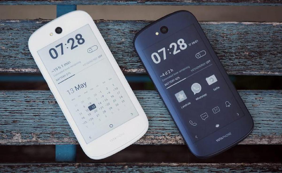 Внешне планшет будет похож на YotoPhone