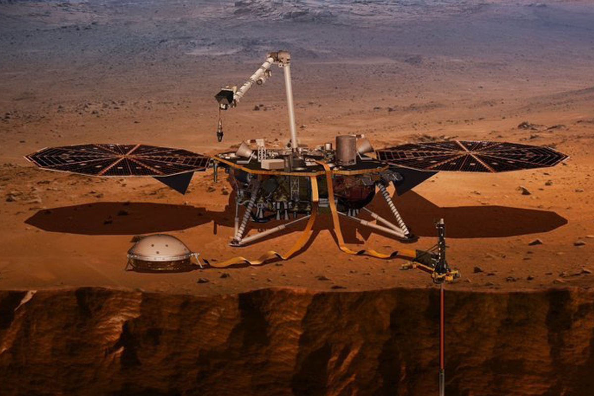 Марсианская станция «Инсайт»