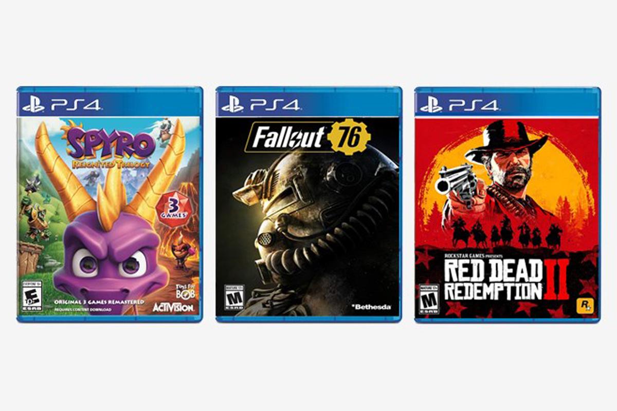 Популярные игры для консолей