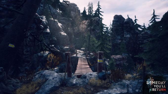 Отлично проработанные детали моста и шикарная цветовая гамма