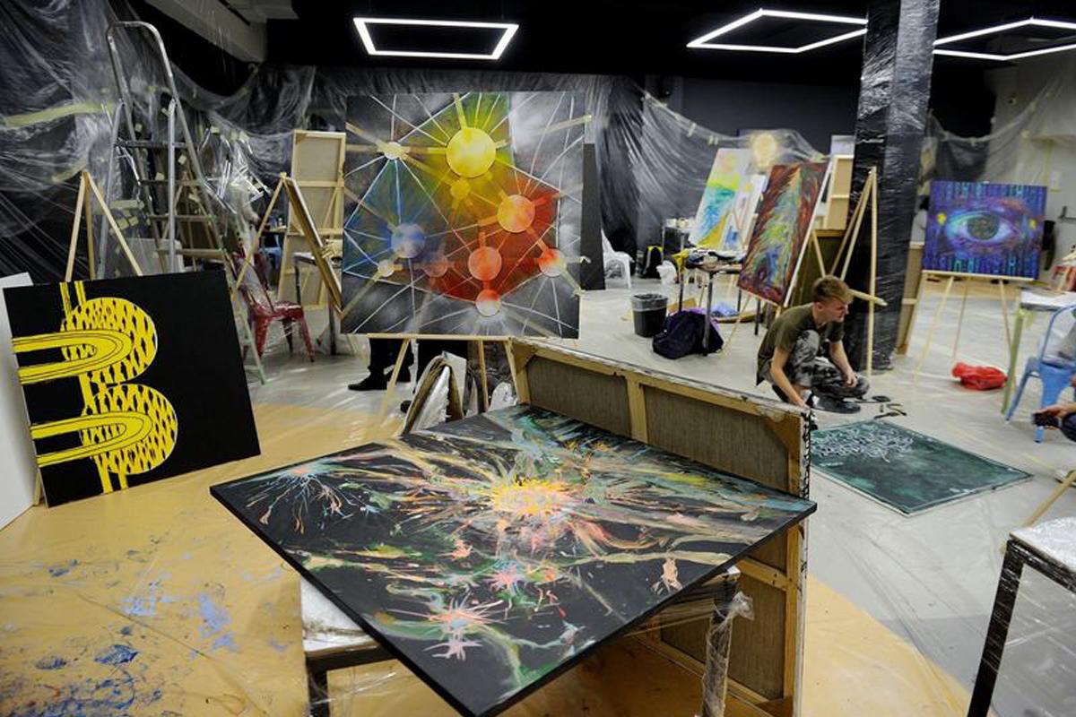 Блокчейн в мире искусства