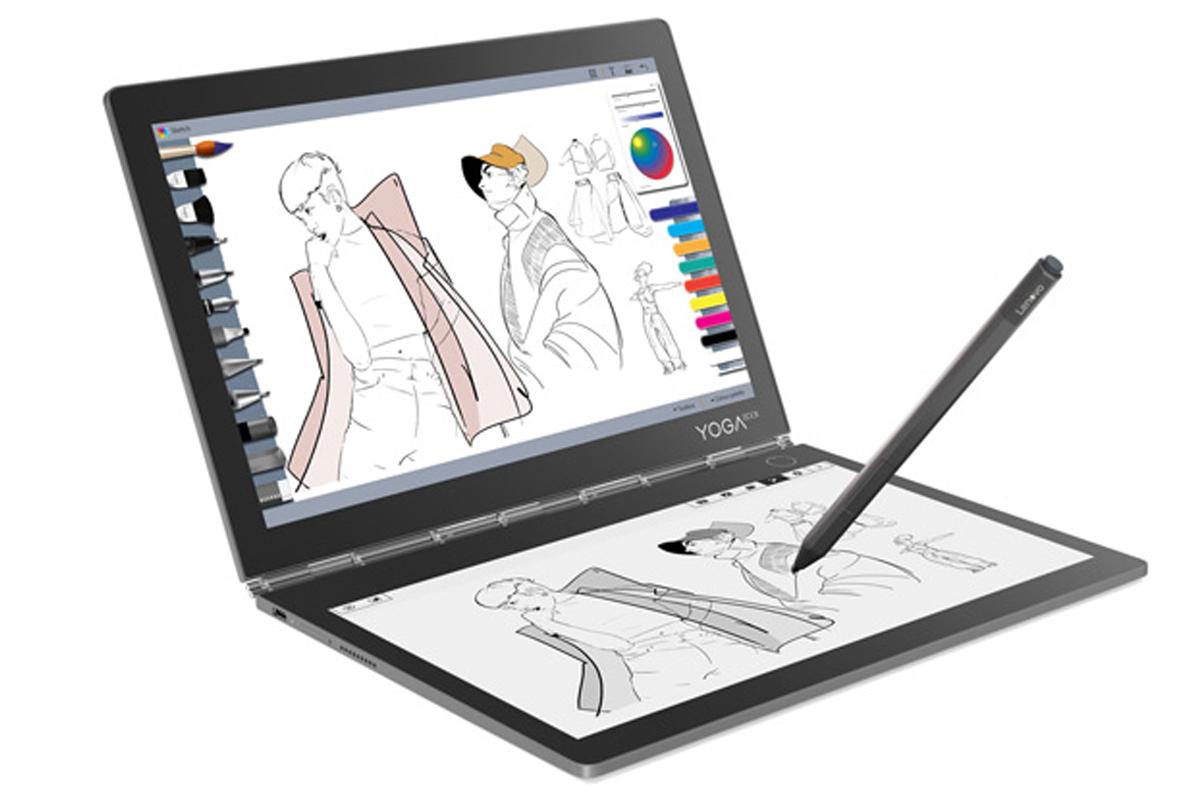Lenovo Yoga Book C930 имеет два стереодинамика с поддержкой Dolby Atmos
