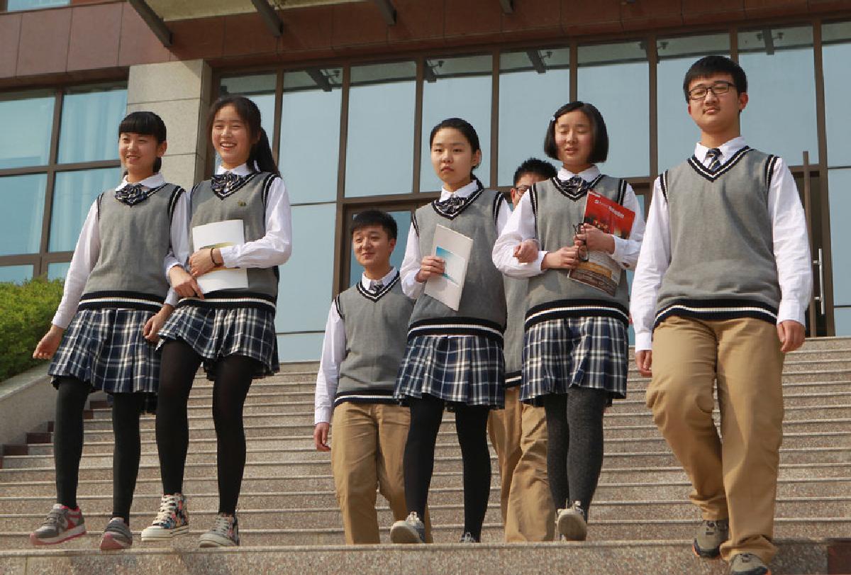В Китая появилась школьная форма с датчиками местоположения