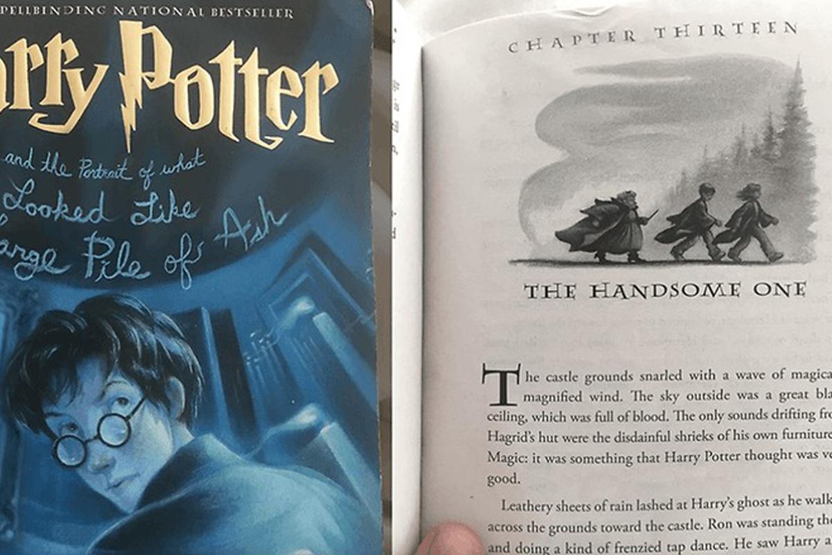 Необычная книга про Гарри Поттера, написанная ИИ
