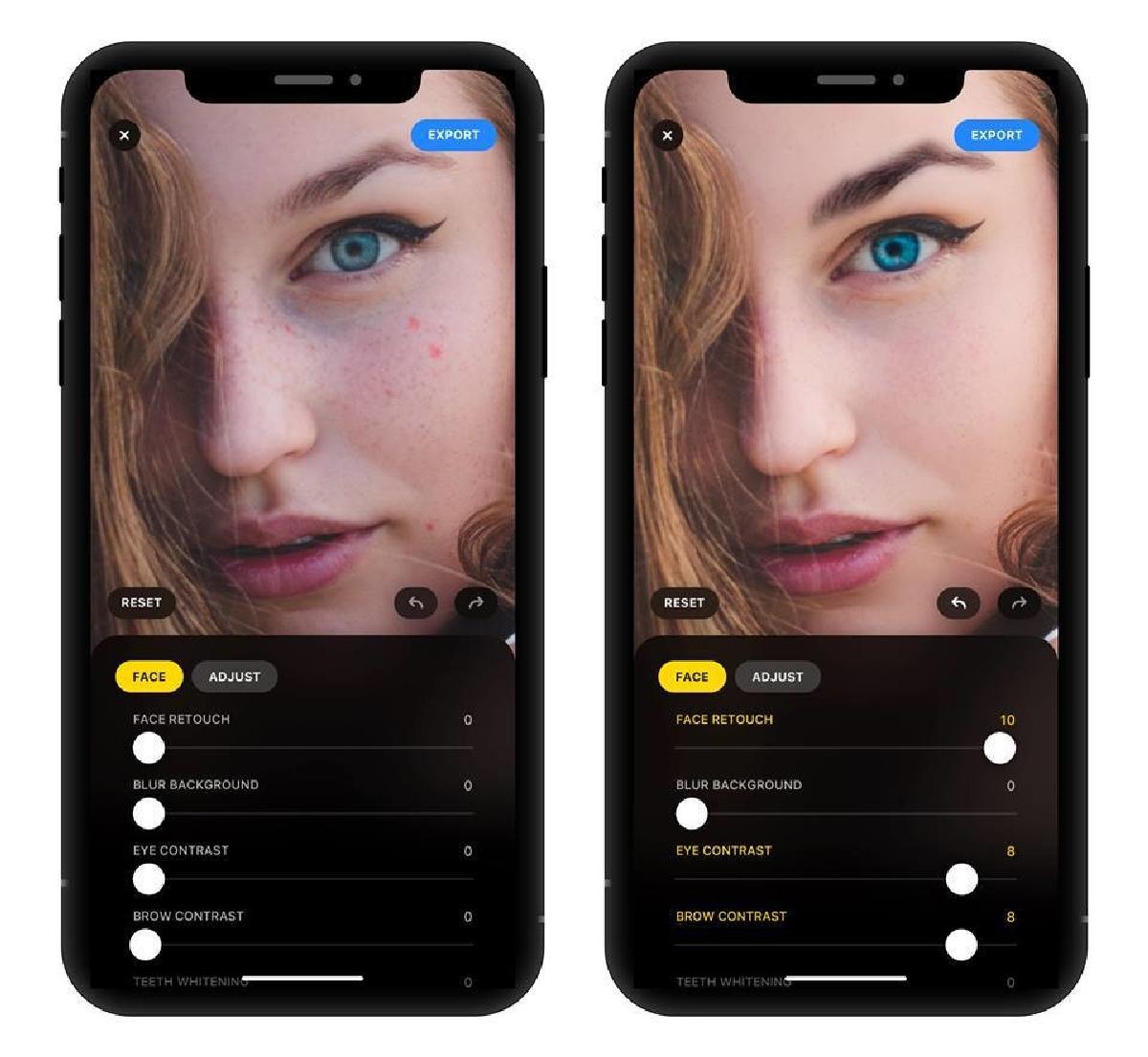 Мобильное приложение использует нейронные сети и технологии машинного обучения для естественной обработки фото