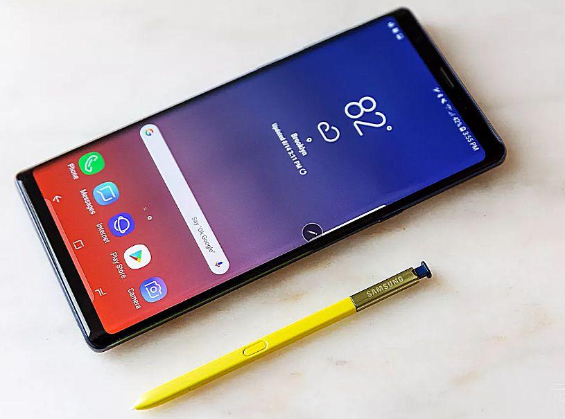 Последняя версия Samsung Note