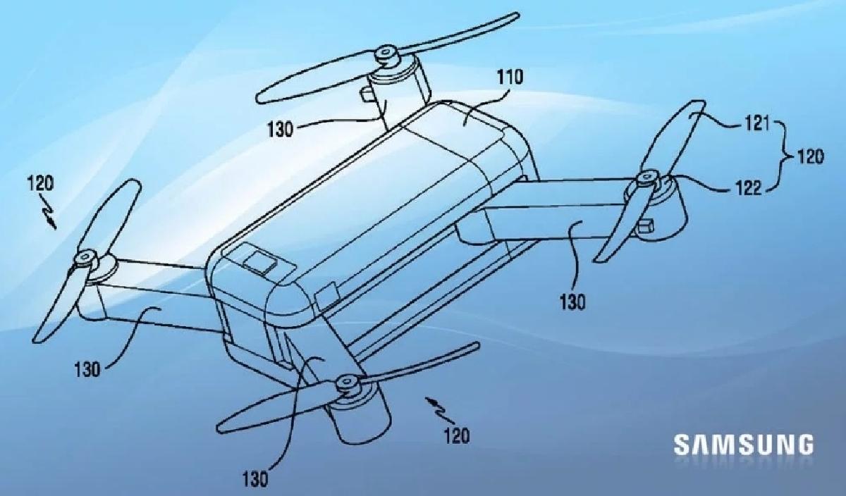 Дроном Samsung можно будет управлять при помощи любого электронного устройства