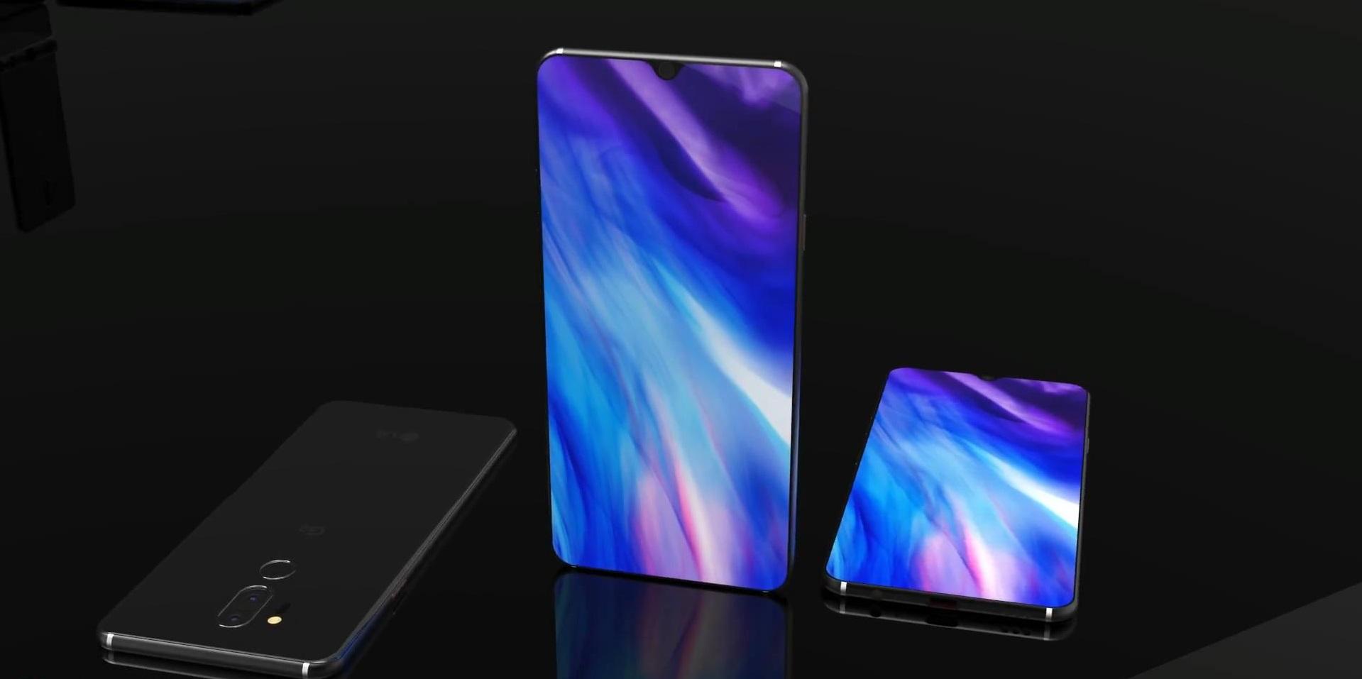 Возможный вид на новый LG G8