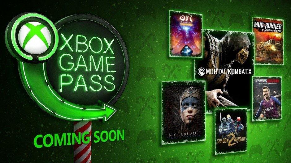 Официальное превью Xbox Game Pass