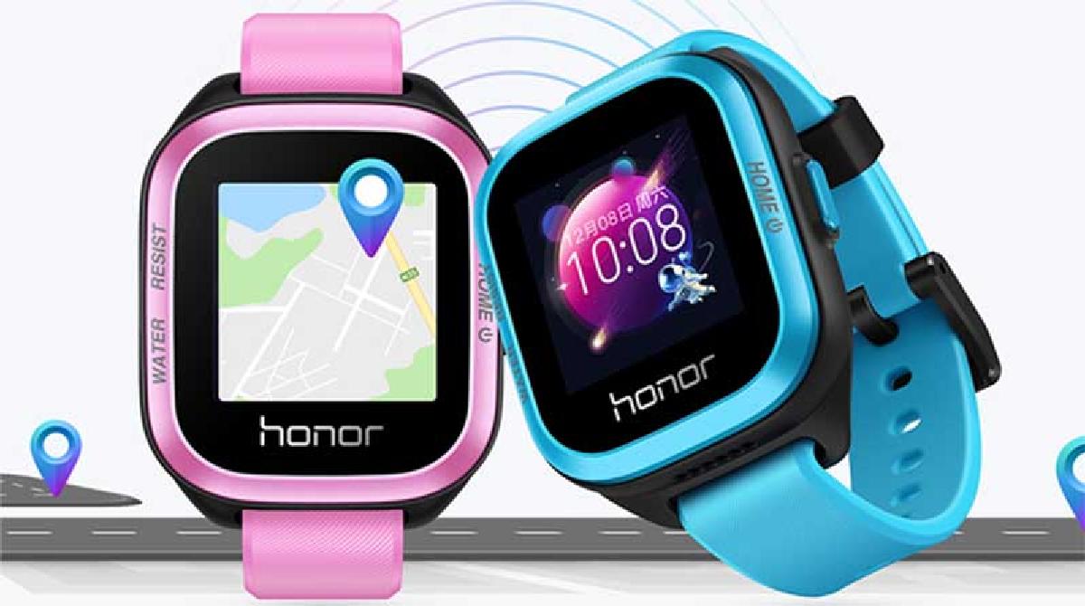 Предусмотрено 2 варианта расцветки корпуса часов: синий и розовый
