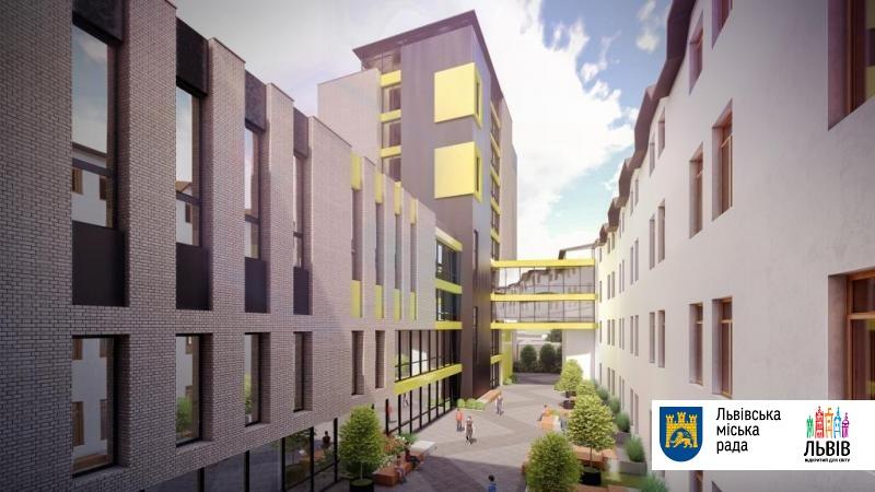 В комплексе будет 2 блока: IT Step Academy и IT Step University