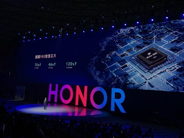 Новый процессор Kirin 980 в Honor V20