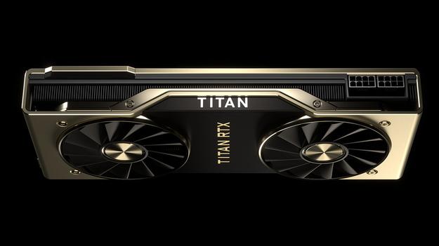 Суровый и вместе с тем элегантный корпус новенькой Nvidia Titan RTX