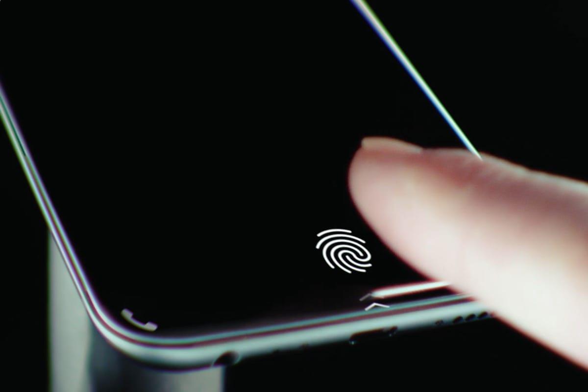 Возможное расположение сканера отпечатков пальцев в новом iPhone