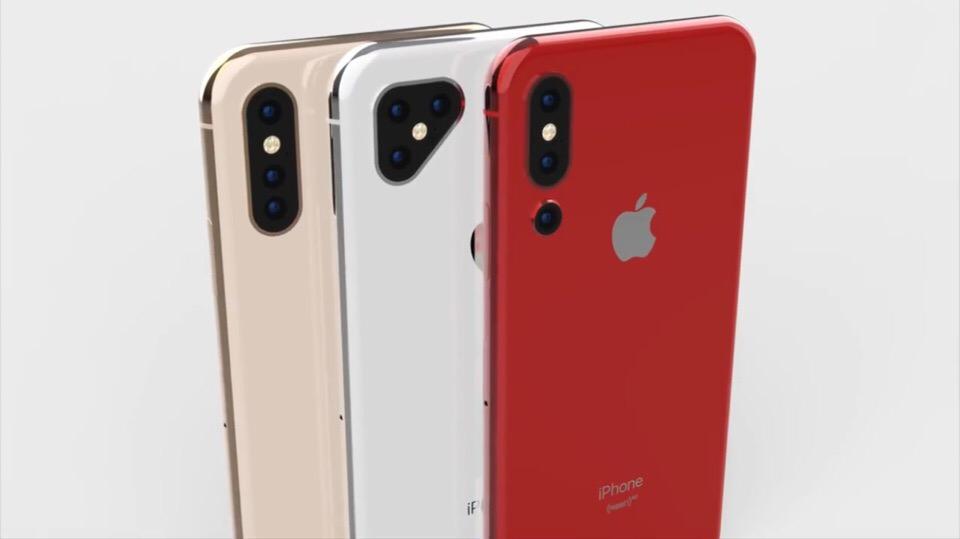 Возможные варианты тройной камеры в новом iPhone