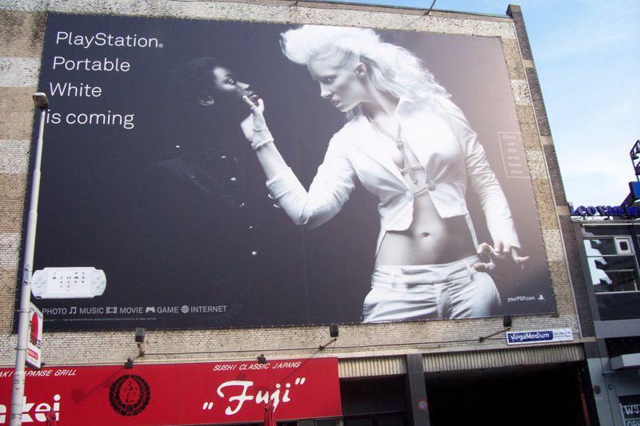 Из-за подобной рекламы разгорелся небольшой скандал