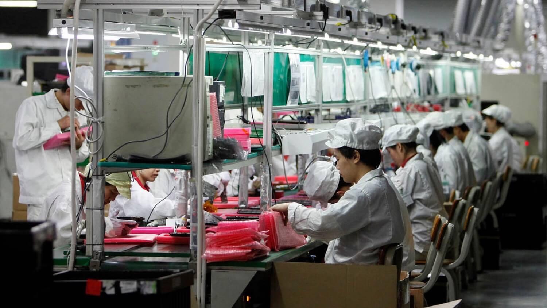 В пик производства iPhone в компании работают более 1 миллиона человек