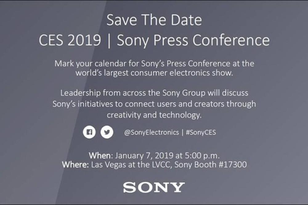 На выставке Sony представит свои новинки