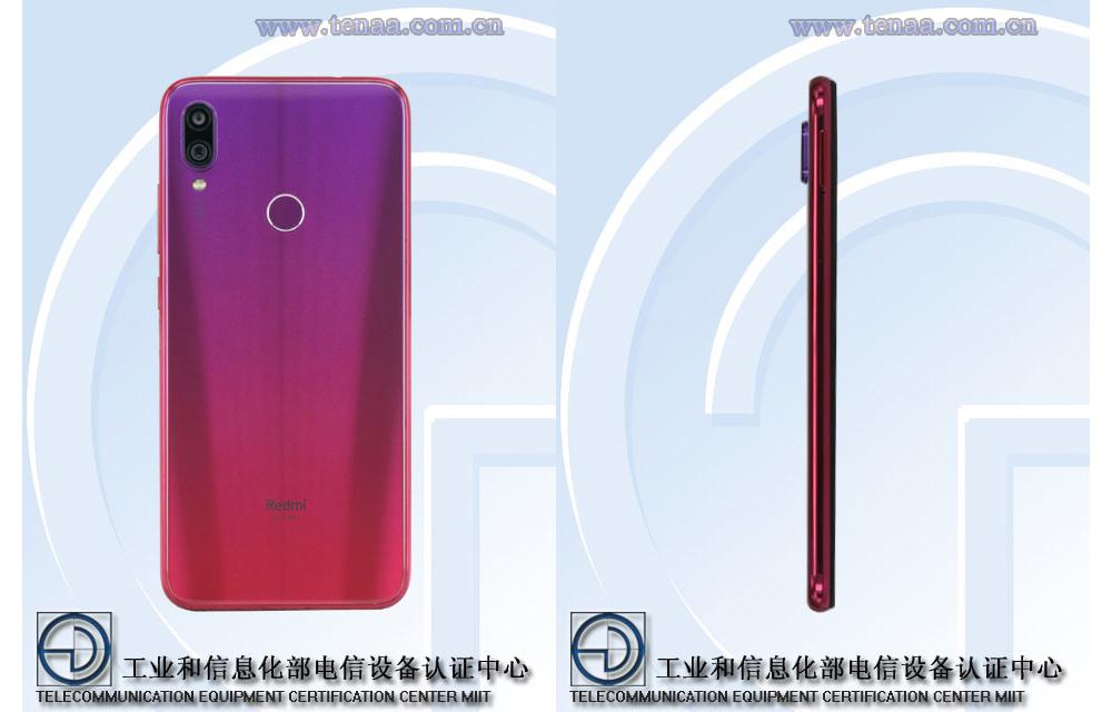 Смартфон c градиентной расцветкой напоминает Xiaomi Mi Play