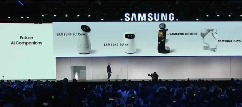 Новая линейка роботов от Samsung